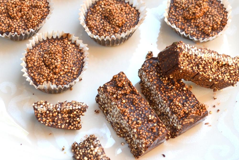 Dark Chocolate Quinoa Crisps4