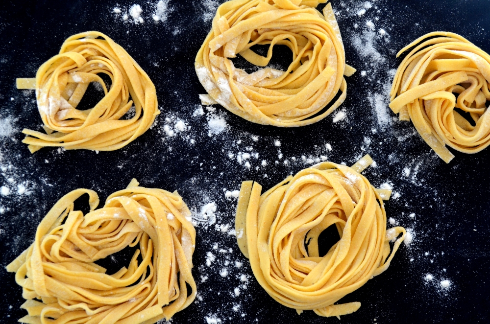 Gluten Free Fresh Pasta, with Psyllium