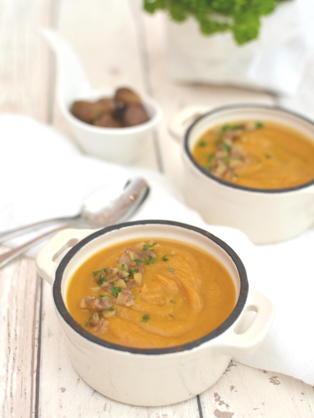 Velvety Chestnut, Butternut Squash And Sweet Potato ...