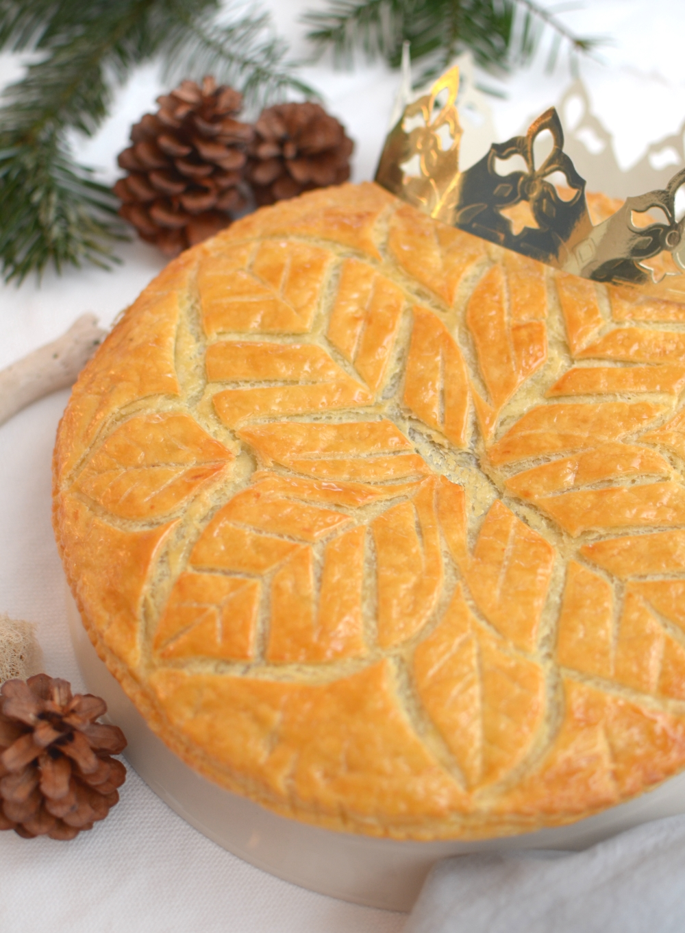 Galette des rois or french epiphany cake gluten free chocolate quinoa - Galette des rois date 2017 ...