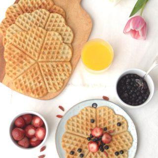 Crisp French Gaufres {Gluten Free Waffles}