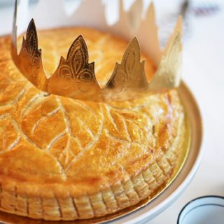 Galette des Rois Or French Epiphany Cake