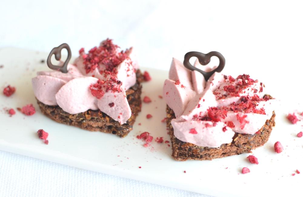 Double Chocolate & Raspberry Heart - Valentine's Special