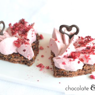 Double Chocolate & Raspberry Heart – My Valentine's Day Special at John's Coffee Shop