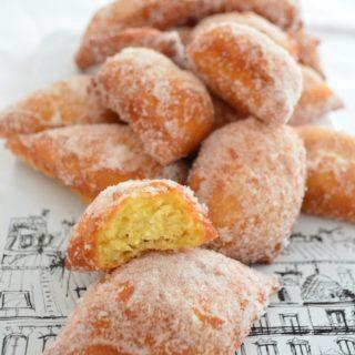 Gluten free French beignets donuts