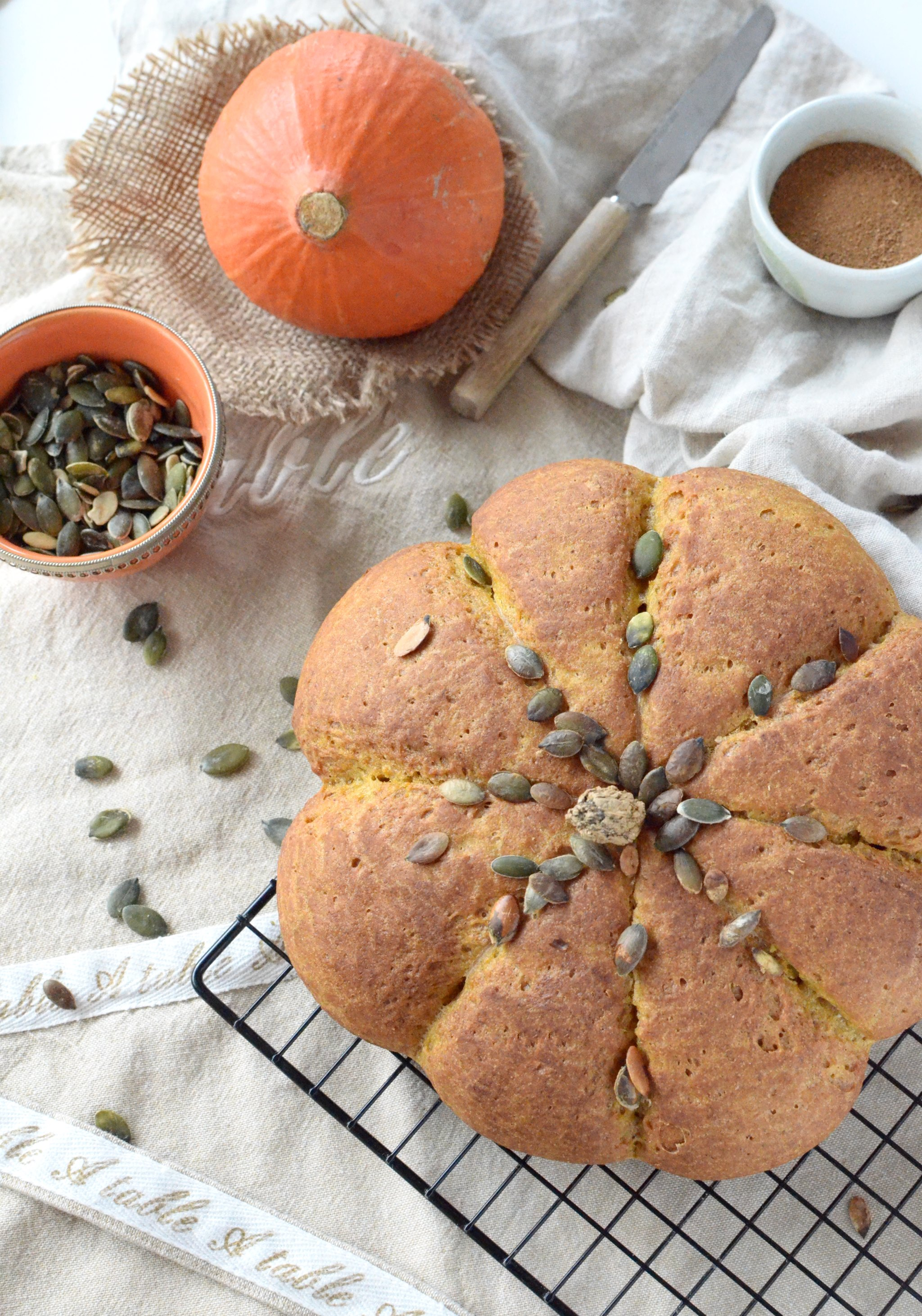 Gluten Free Pumpkin Bread My French Way