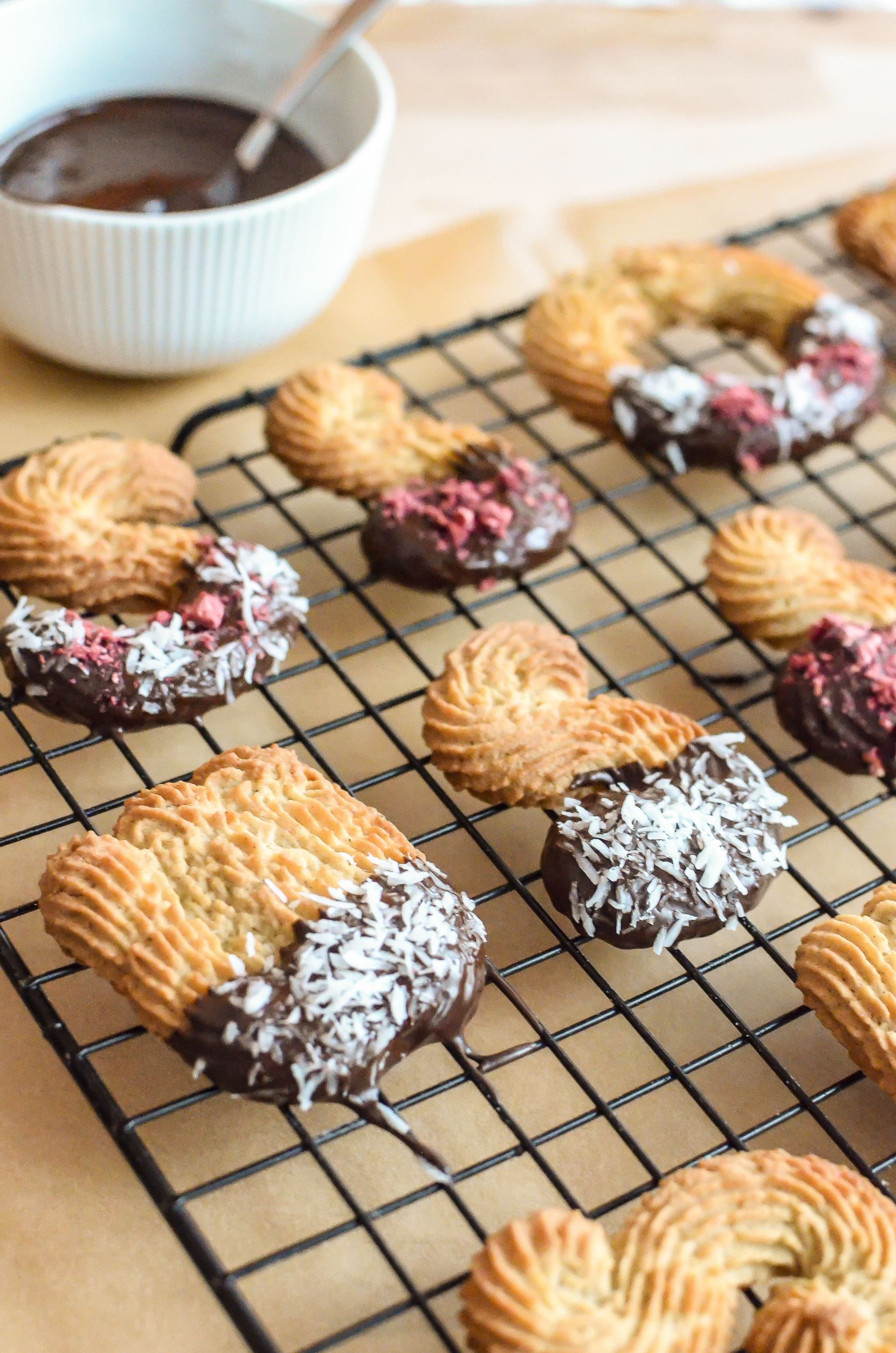 Spritz Bredele Christmas Biscuits