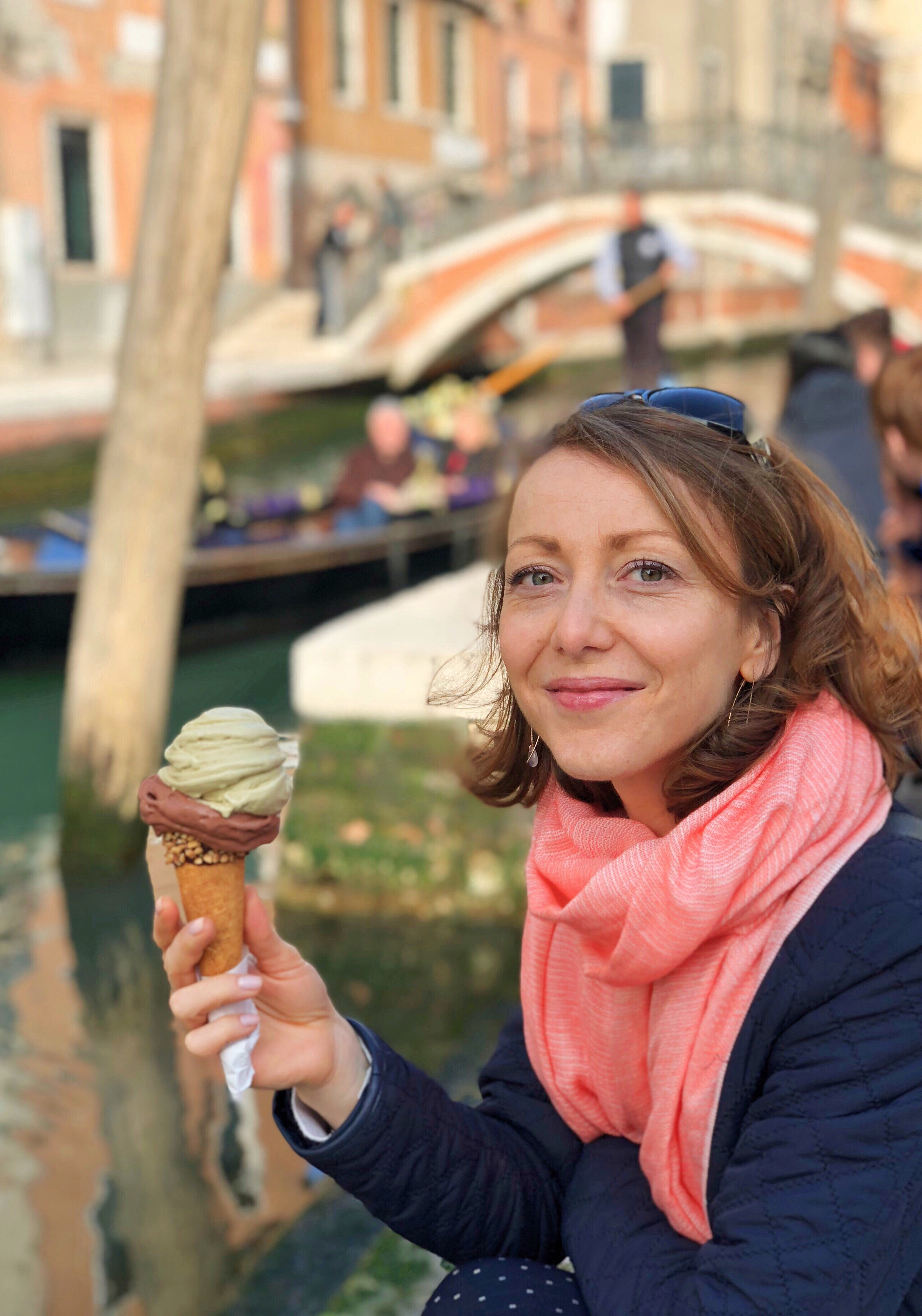 Grom ice cream gelateria Venice Italy Gluten free