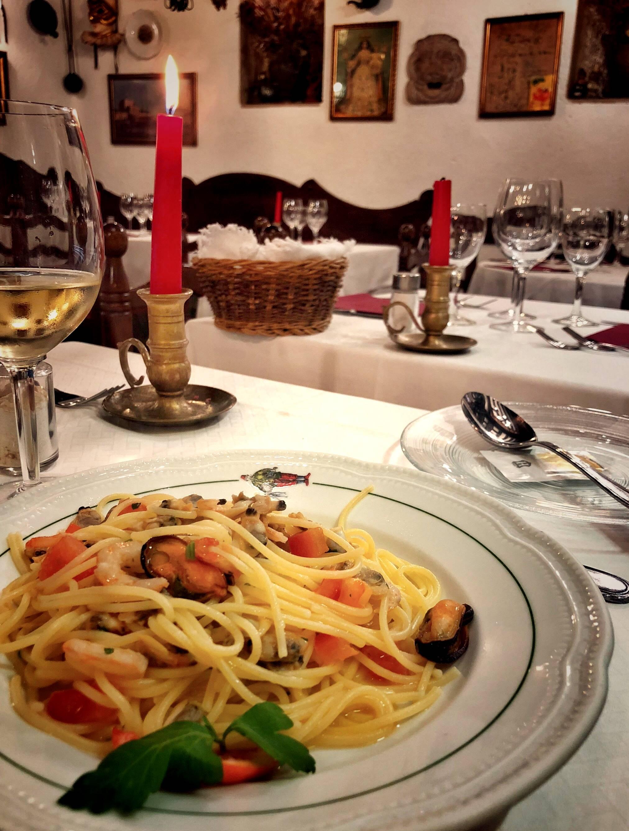 Al Conte Pescaor Venice Italy Gluten Free 1