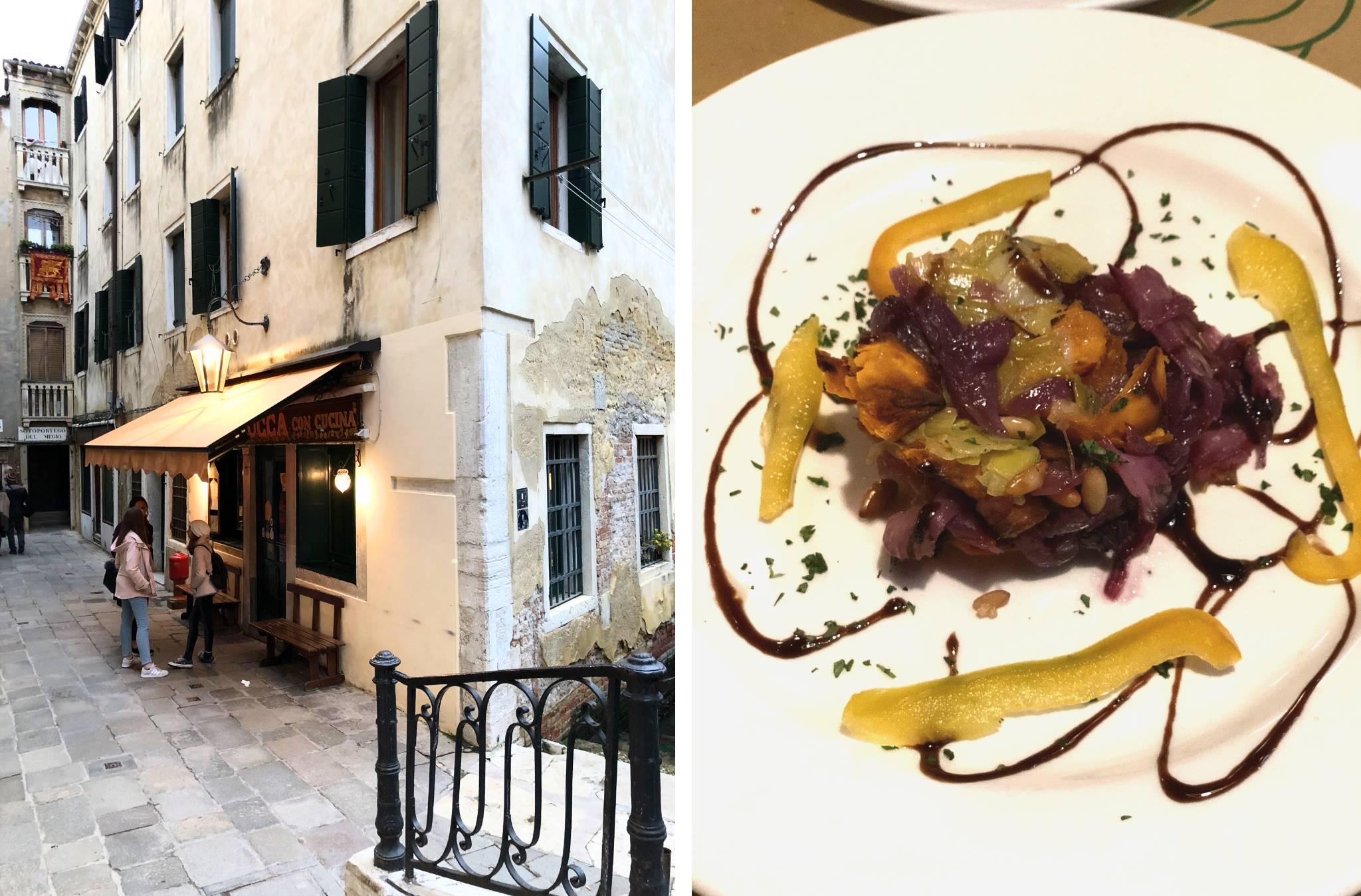 La Zucca Venice Italy gluten free 1